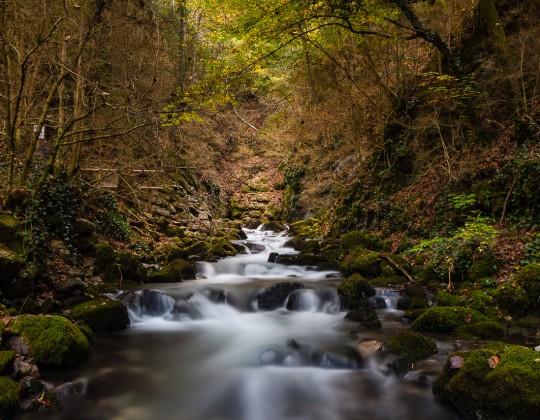 Font de L´Adou Nacimiento del rio Bastareny  (Cadí-Moixeró)